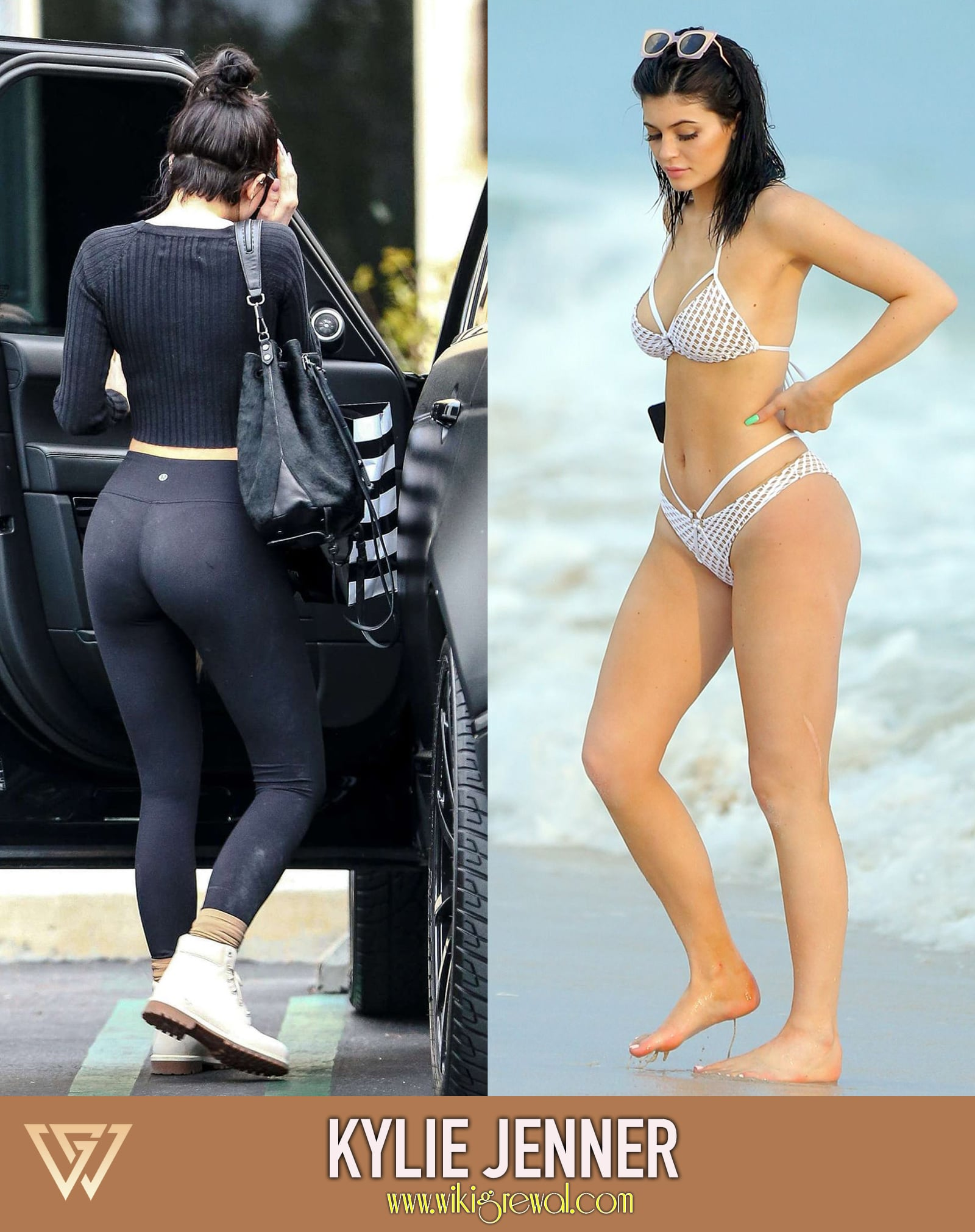 Kylie Jenners booty implants in yoga pants   HOT Girls In
